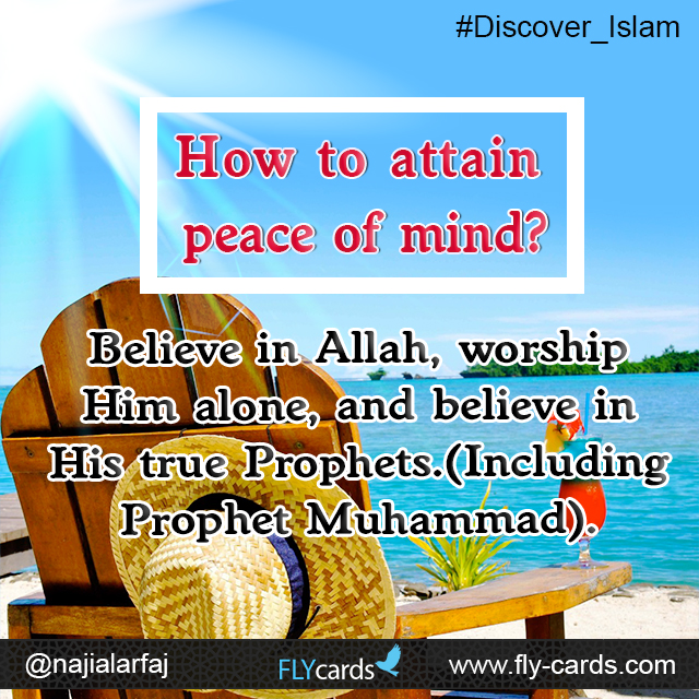 How to attain peace of mind