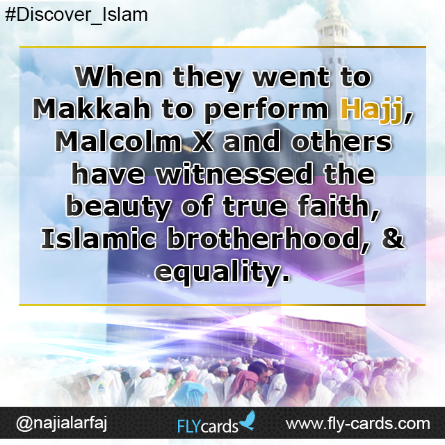 when they went to mekkah to preform hajj...