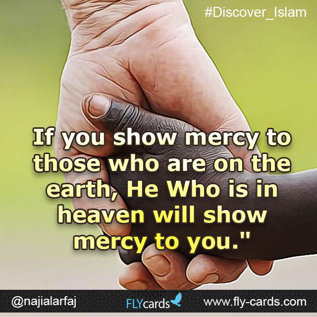 If you show mercy