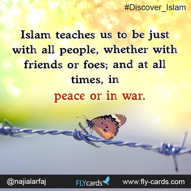 Islam teaches us