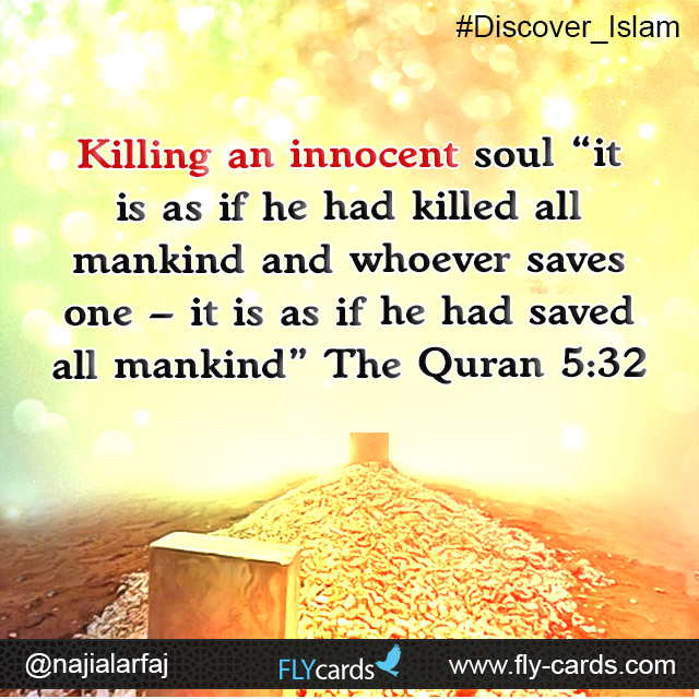 Killing an innocent soul