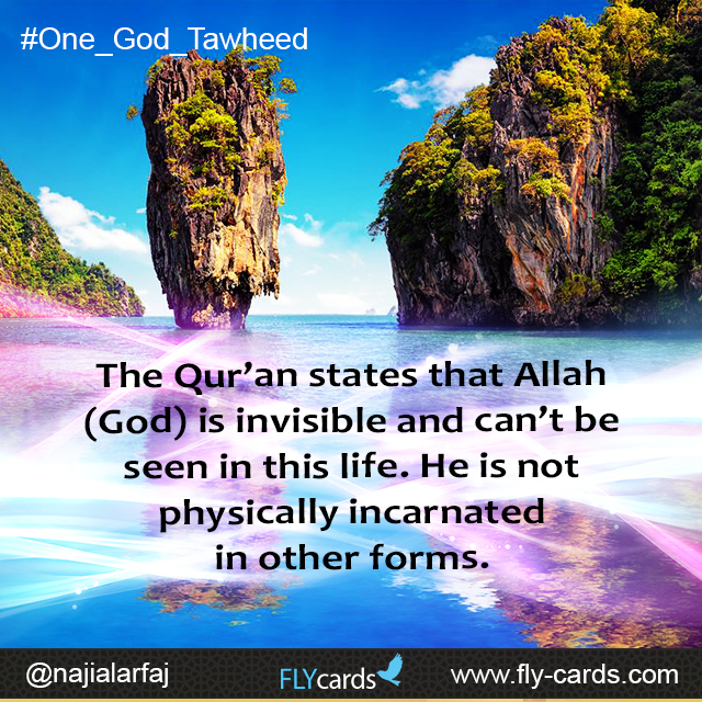 Allah is invisible