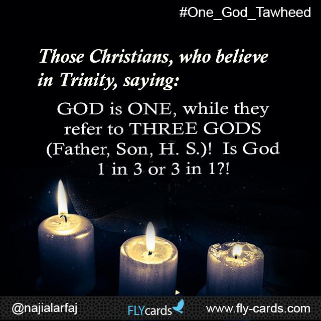 Who believe in trinity