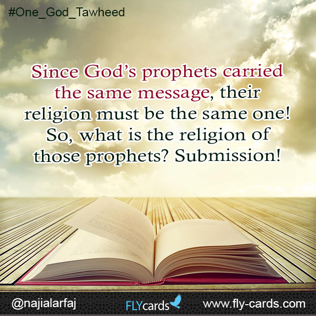 what is the religion of those prophets?
