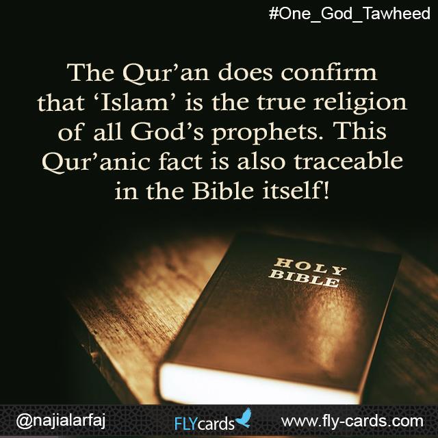Islam is the true religion