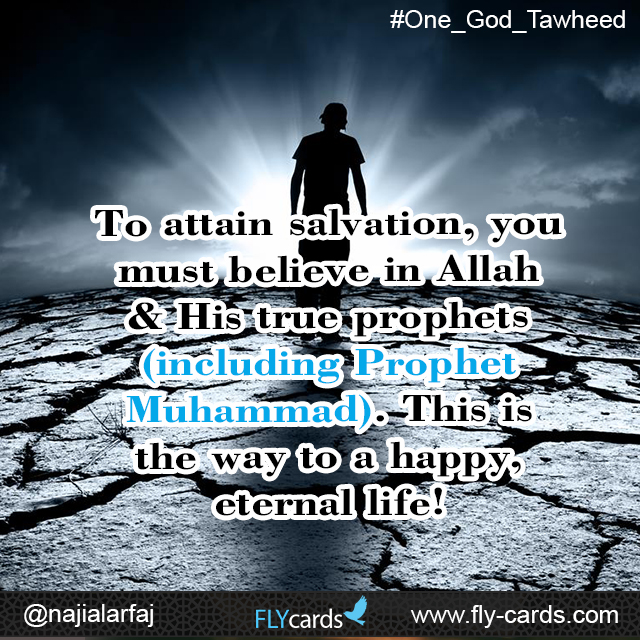 To attain salvation