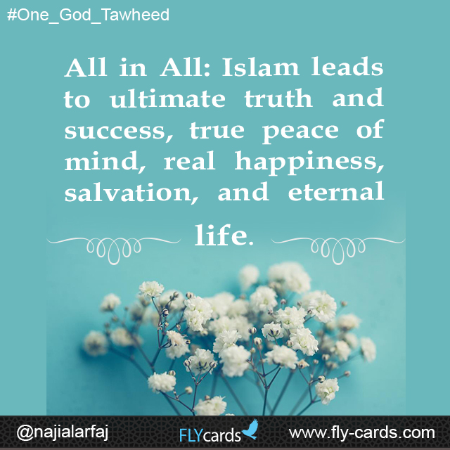 Islam leads to ultimate truth