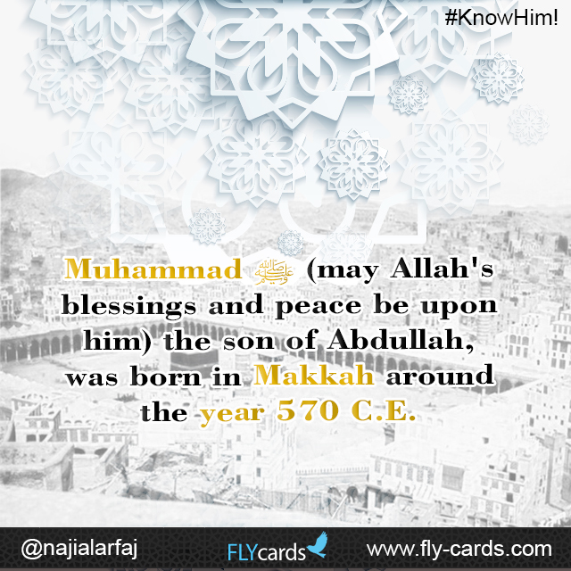 When was Muhammad born