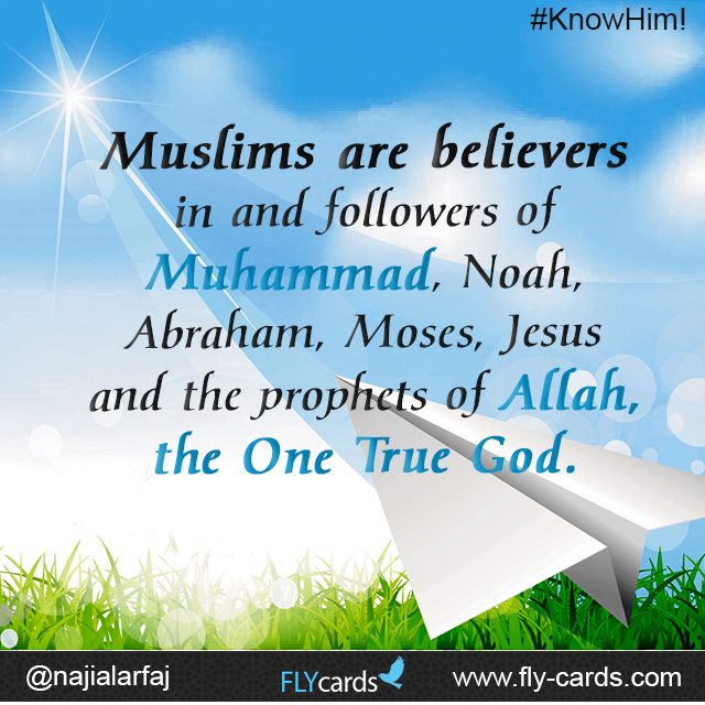 Muslims are believers