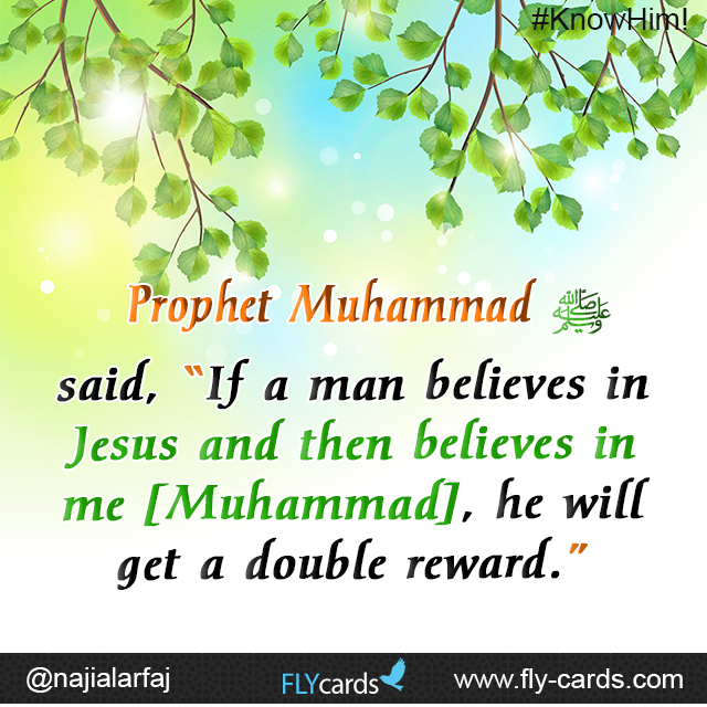 If a man believes in Jesus
