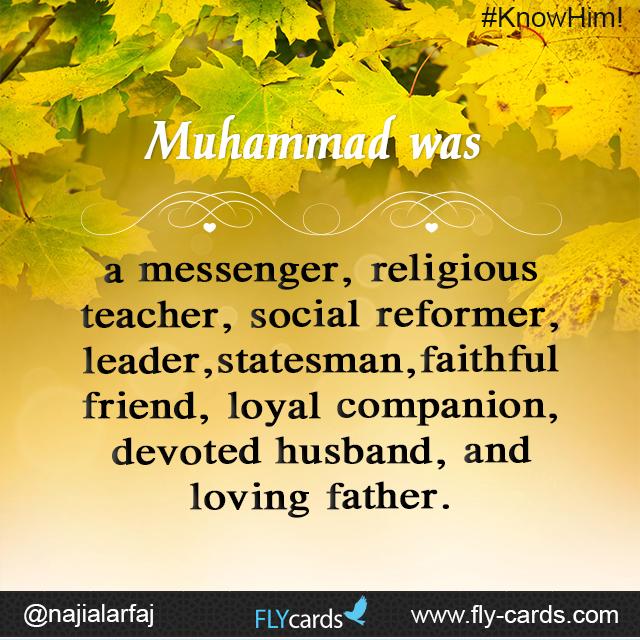 Muhammad was a messenger