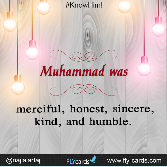 Muhammad was merciful