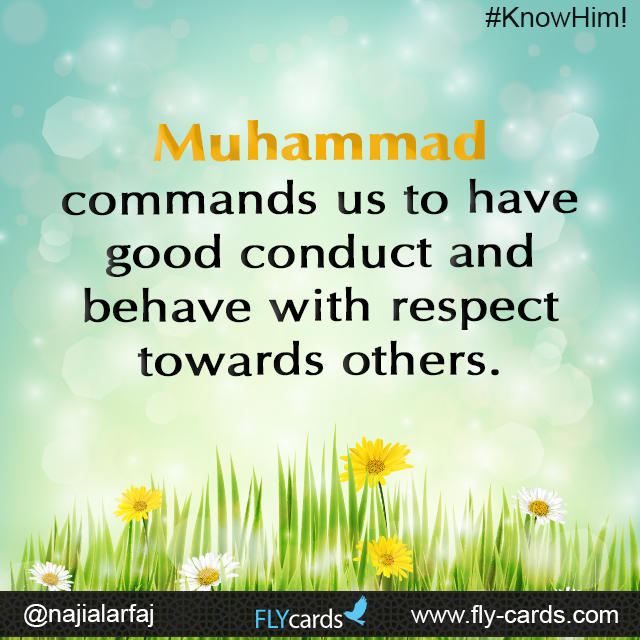 Behave with respect