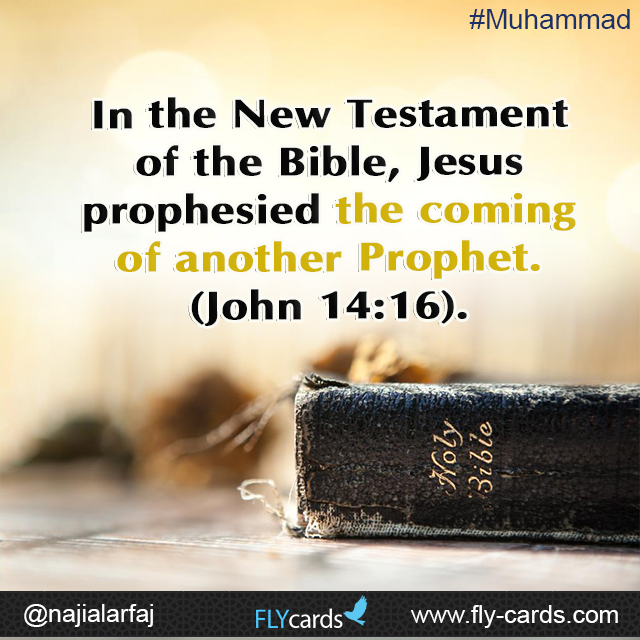 The coming of another prophet