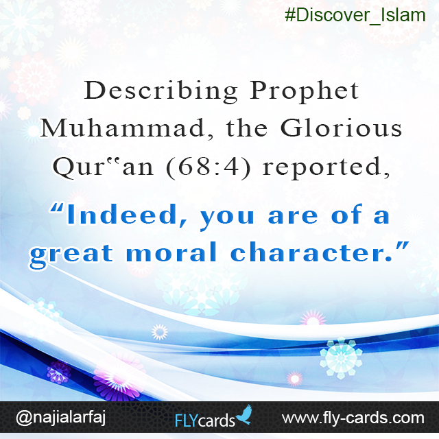 Indeed, you are of a Great Moral Character