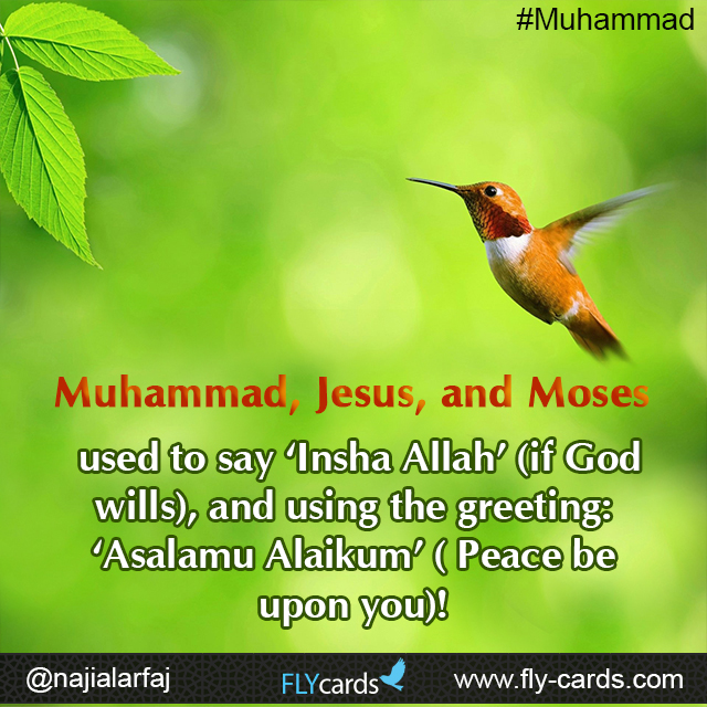 Muhammad, Jesus, and Moses