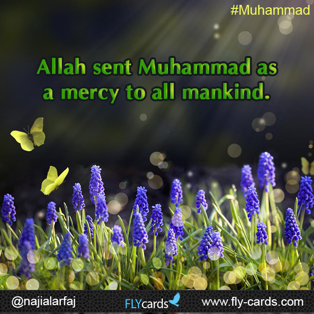Allah Sent muhammad as mercy