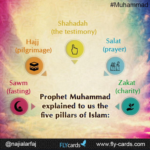 Prophet Muhammad explained to us the five pillars of Islam