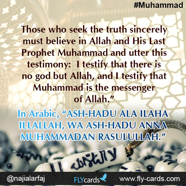 Those who seek the truth