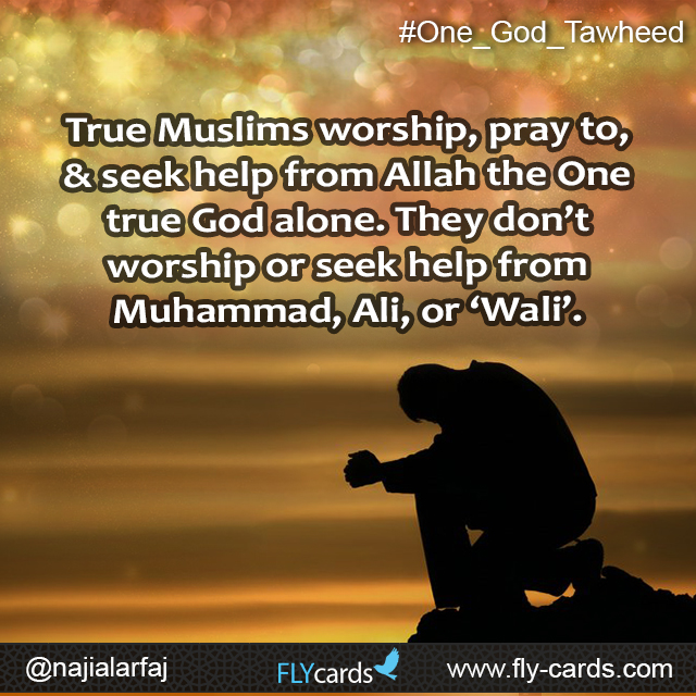 True muslims worship