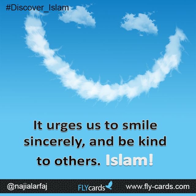 Islam and smiling