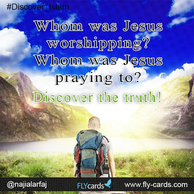 Whom was Jesus worshiping