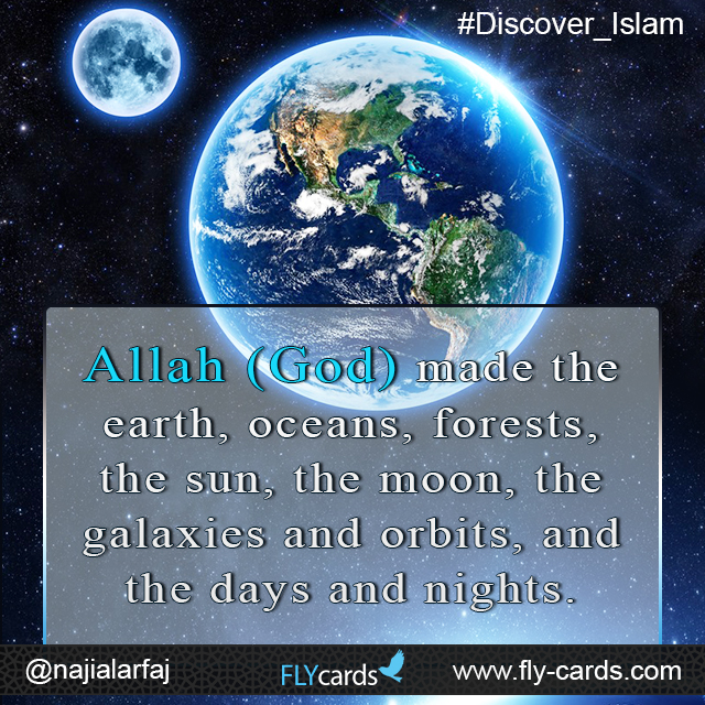 Allah made the earth