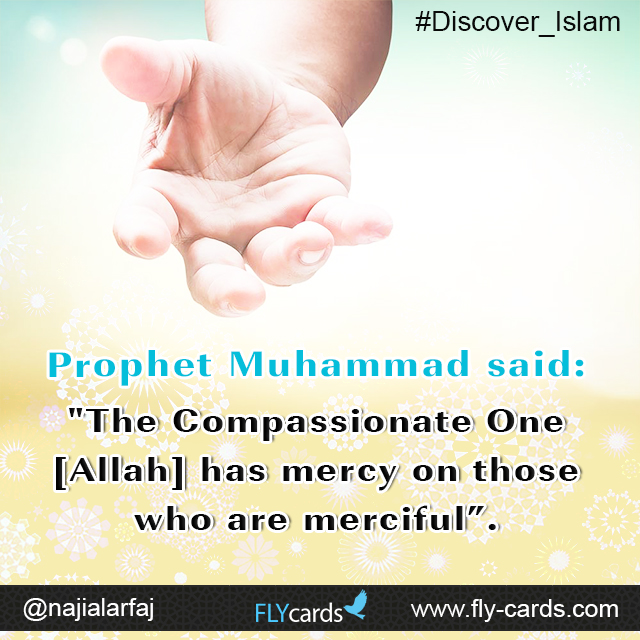 The Compassionate one [Allah]