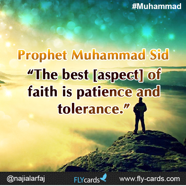 The best aspect of faith